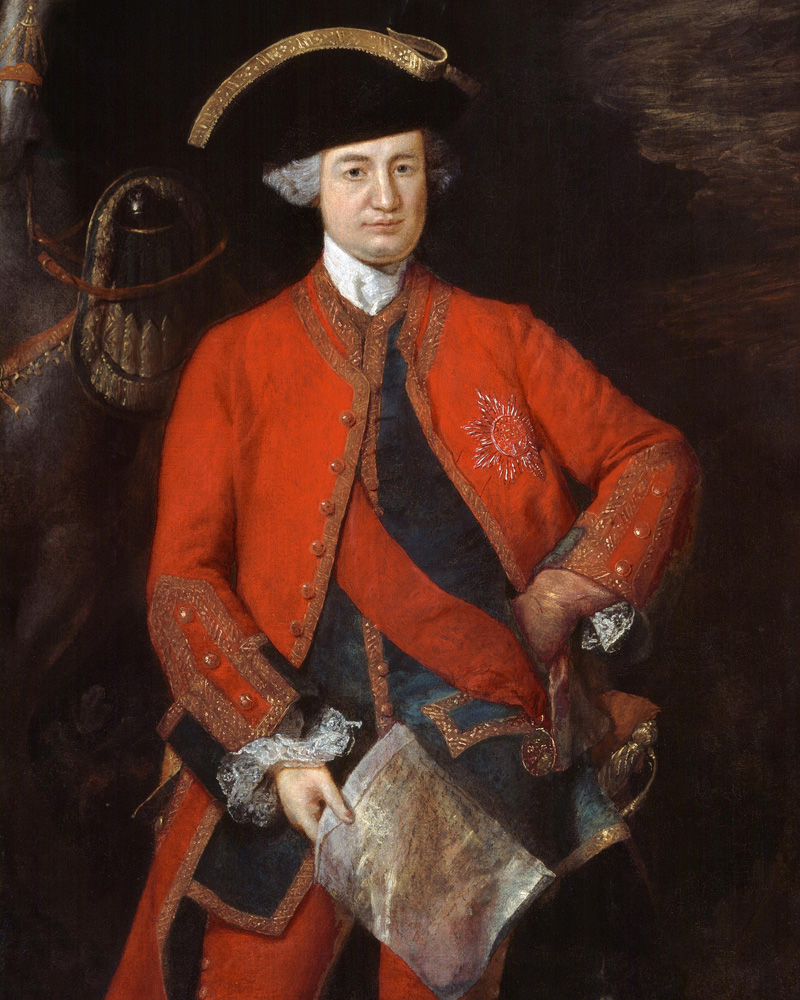 Major-General Lord Robert Clive, c1764