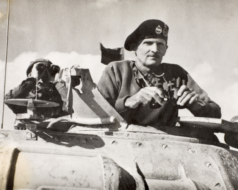 Lieutenant-General Bernard Montgomery, 1942