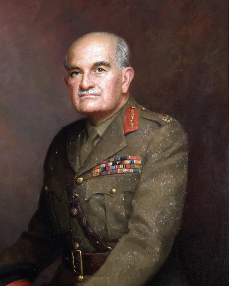 Field Marshal William, Viscount Slim, 1967