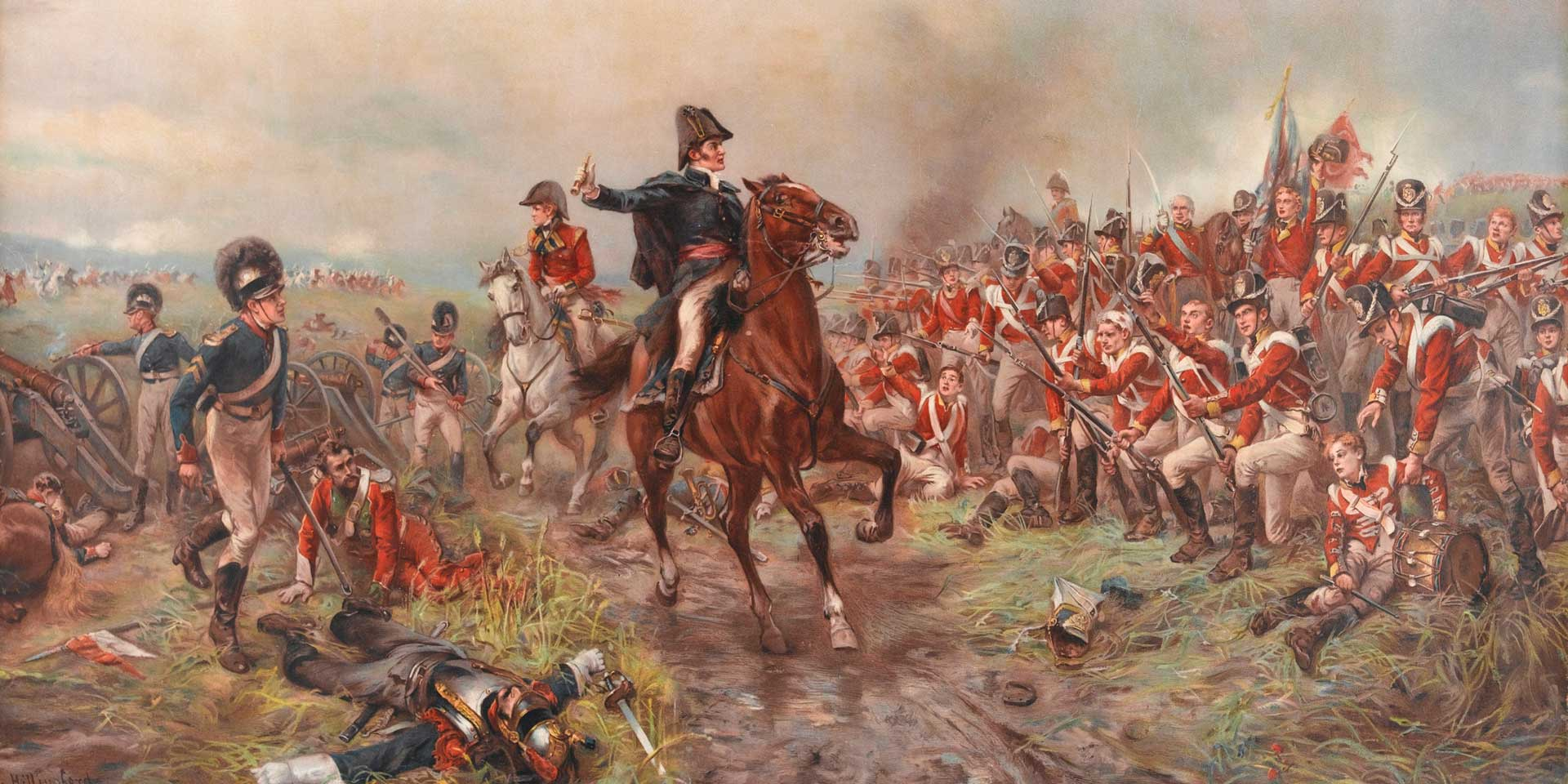 The Duke of Wellington at Waterloo, 1815
