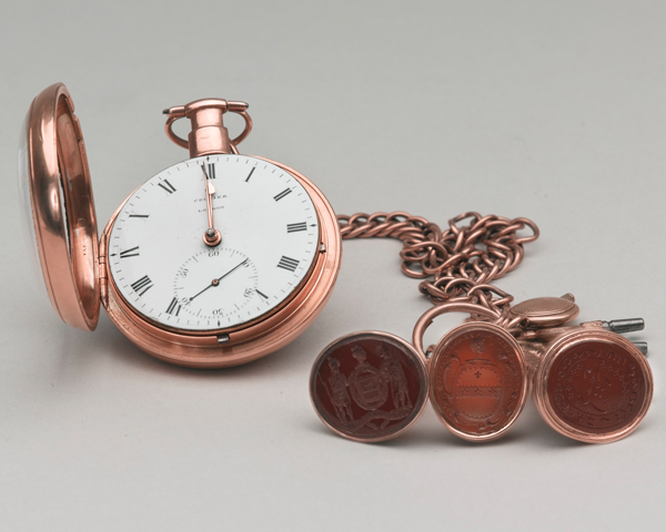Watch taken from the body of Sir John Moore after his death at Corunna, 1809