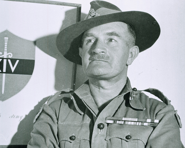 Field Marshal Sir William Slim, c1947