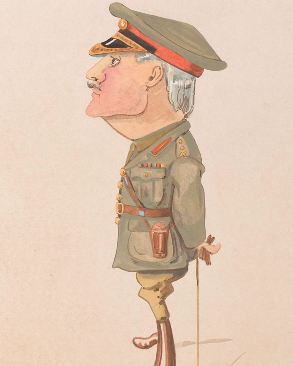 Caricature of General Sir Edmund Allenby, c1918