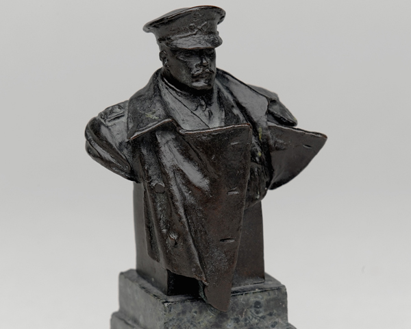Bronze bust of Field Marshal Douglas Haig, c1918