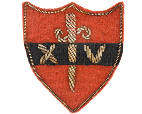Formation badge of 14th Army, c1945
