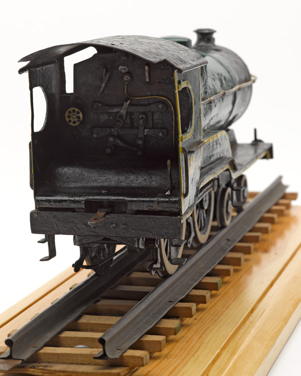 Model of a London and North Eastern Railway engine, c1943 (back)