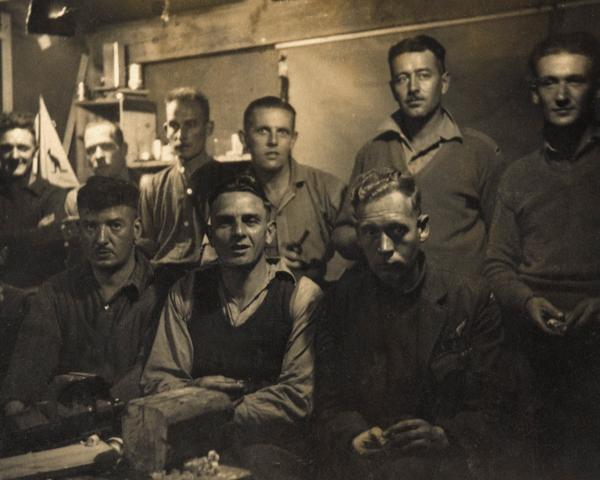 Stalag 383 model club members, c1943