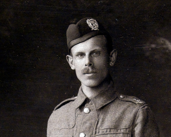 Private Percy Ottley, c1916