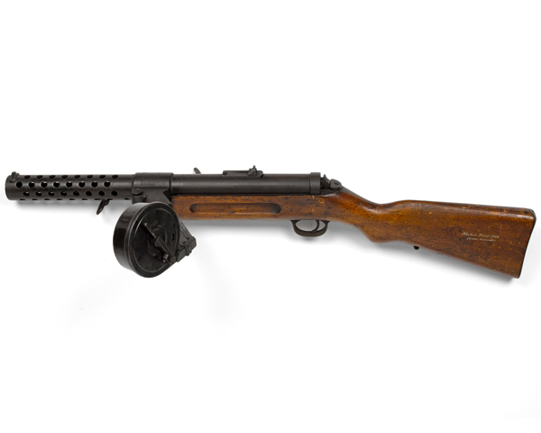 Storm troopers used new weapons like this Bergmann MP18-1 submachine gun to great effect during the Spring Offensive of 1918