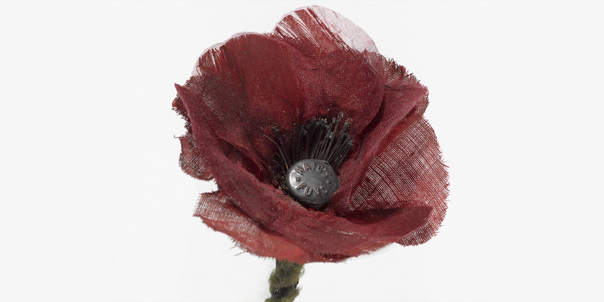 Earl Haig Fund poppy lapel badge, 1930