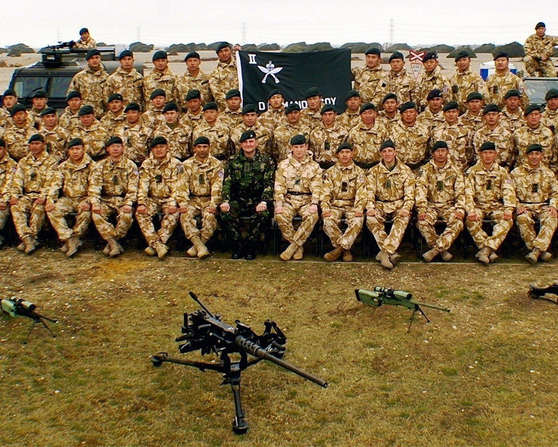 'D' Company, 2nd Battalion, The Royal Gurkha Rifles, before their deployment to Afghanistan, 2006