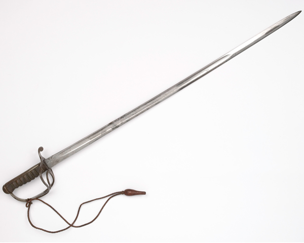 Sword carried by Allenby when he entered the Syrian city of Aleppo in December 1918