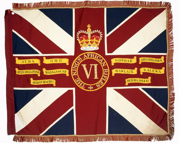 Queen's Colour of 6th Battalion The King's African Rifles, c1958