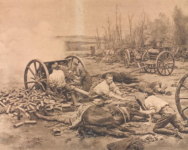 'L' Battery, Royal Horse Artillery, at Nery, 1 September 1914