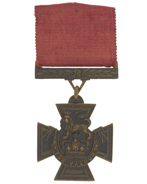 Victoria Cross awarded to Lieutenant John Grant Malcolmson, 1857