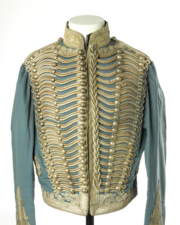 Short-frogged jacket worn by Captain John Grant Malcolmson VC, c1860
