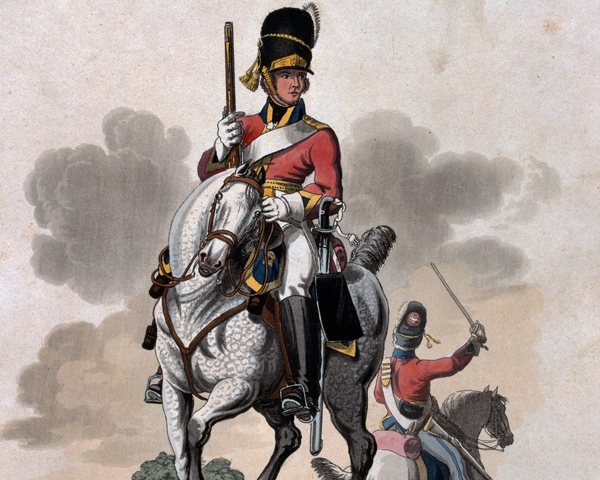 Trooper of the 2nd or Royal Northern British Dragoons, 1812