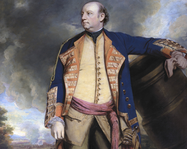 Lieutenant General John Manners, Marquess of Granby and Colonel of the Royal Horse Guards, c1763