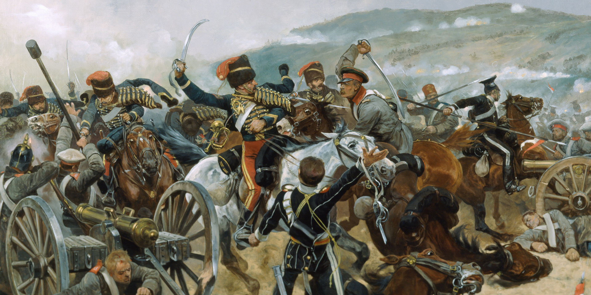 The Relief of the Light Brigade, 25th October 1854