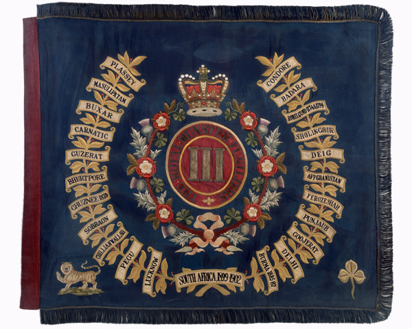 Regimental Colour, 3rd (Special Reserve) Battalion, The Royal Munster Fusiliers, 1902-1922