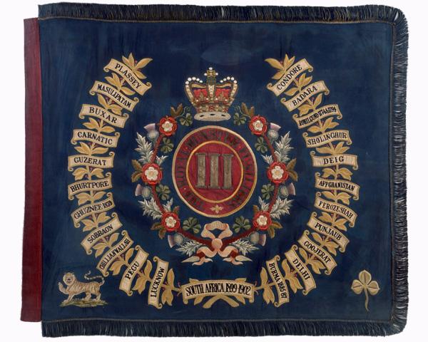 Regimental Colour, 3rd (Special Reserve) Battalion, The Royal Munster Fusiliers, 1902-1922