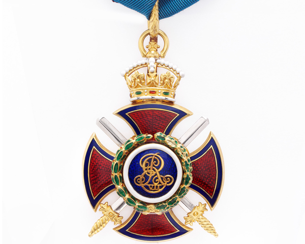 Order of Merit awarded to Field Marshal Viscount Garnet Wolseley, 1902