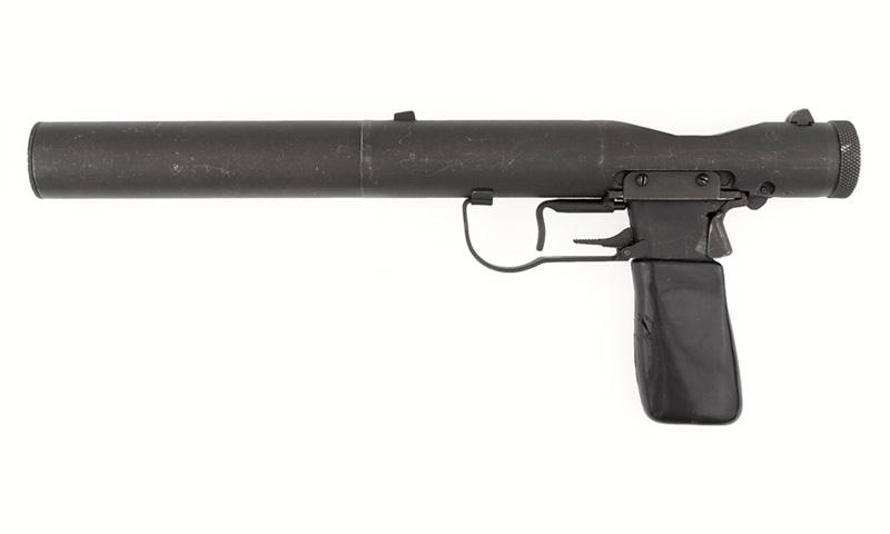 SOEWelrod silenced pistol, 1944
