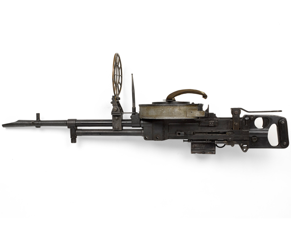 Vickers Class K light machine gun used by the Long Range Desert Group, c1940