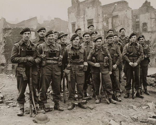 Members of No. 3 Army Commando, c1945