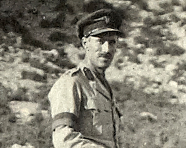 Major William Leith-Ross, 1920