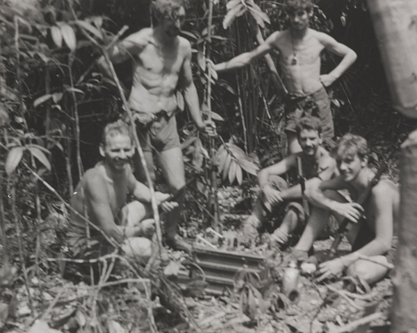 Malayan Scouts in the jungle, c1955