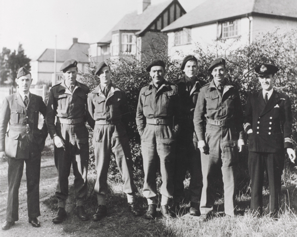 Members of No. 2 Special Boat Service, Hillhead, Hampshire, 1943
