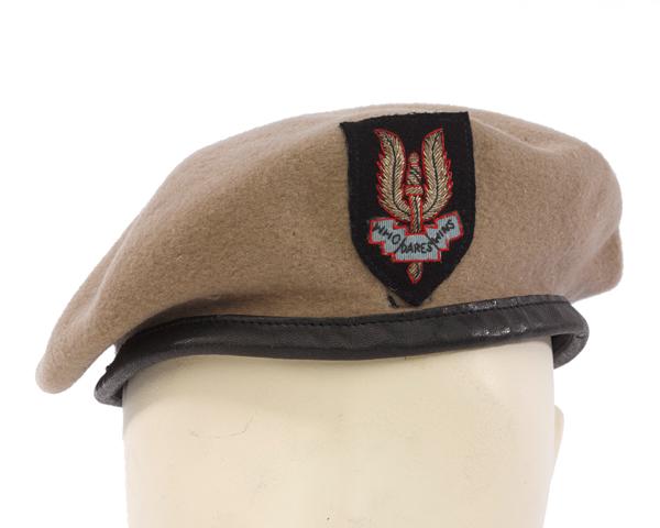 SAS beret worn by Lieutenant-Colonel Ronald Grierson, c1950