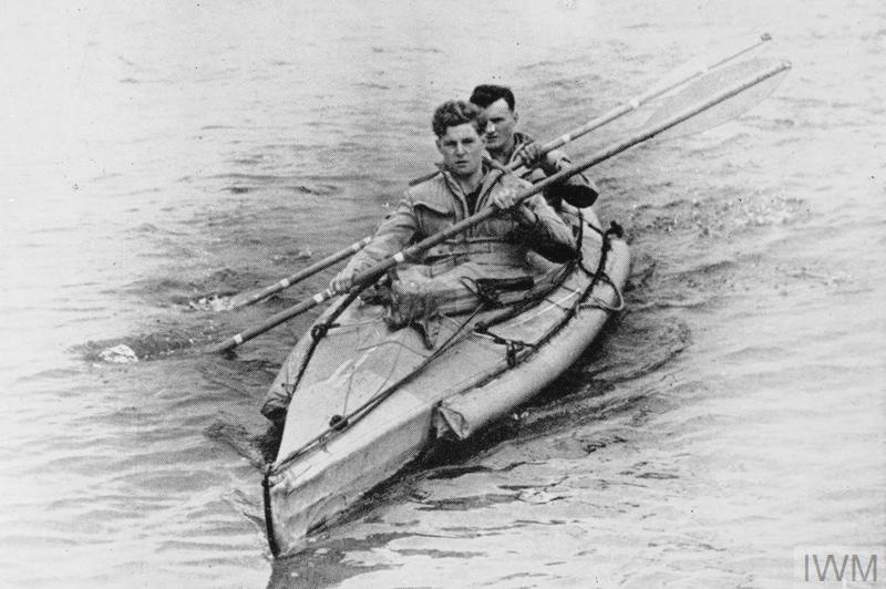 A Combined Operations Pilotage Parties canoe, c1944
