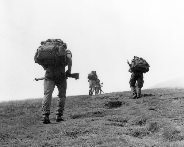 Special Forces selection training in Brecon Beacons, 1970s