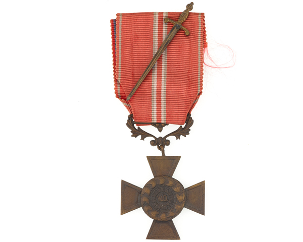 French Resistance Cross awarded to Captain Michael Trotobas, 1945