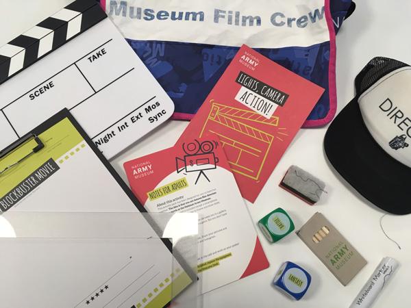 Museum Film Crew backpacks