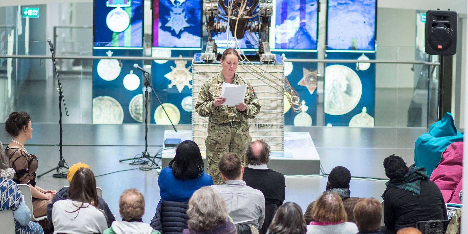 'Writing Armistice' prize-giving ceremony