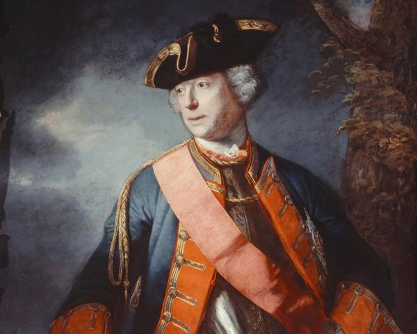 Field Marshal Jean Louis Ligonier, c1755