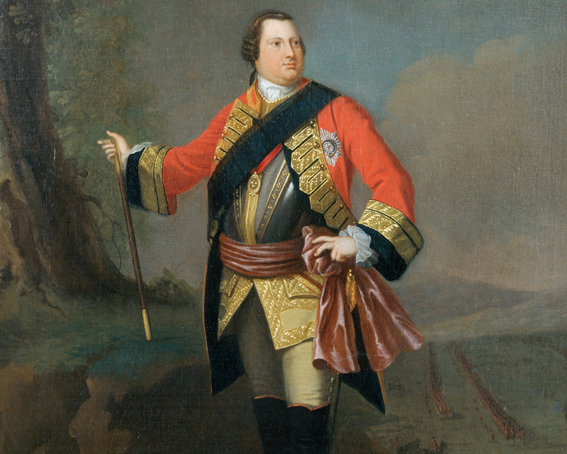 William Augustus, Duke of Cumberland, c1750