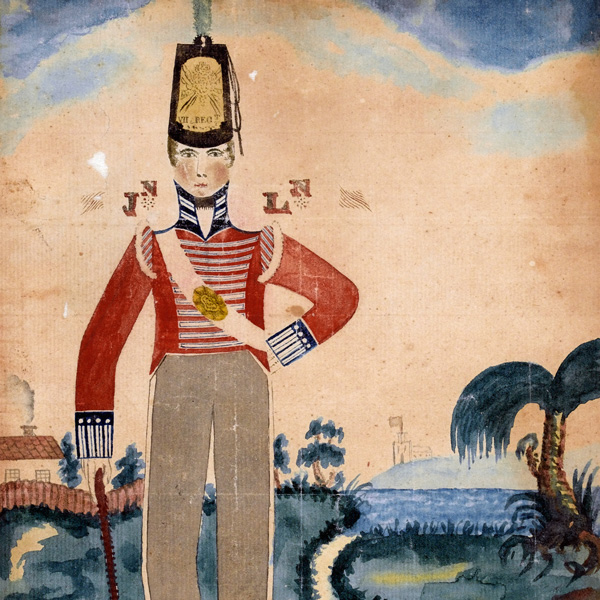 A private of the 7th (Royal Fusiliers) in the Caribbean, 1805