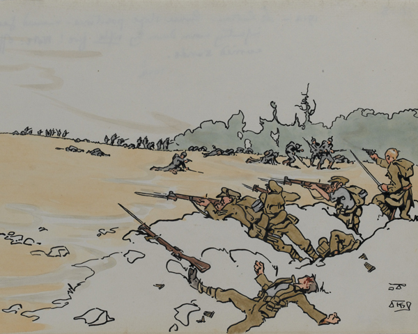 The Battle of Le Cateau, 26 August 1914