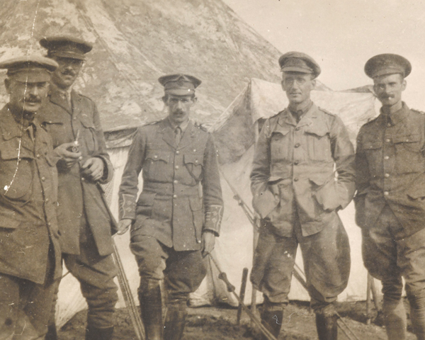 Officers of 5th Battalion The Connaught Rangers at Gallipoli, 1915
