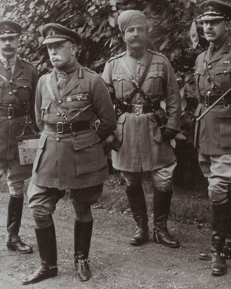 Field Marshal Sir John French and his staff, c1914