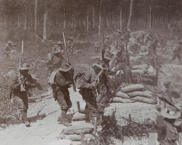 Gurkhas at Neuve Chapelle, 1915