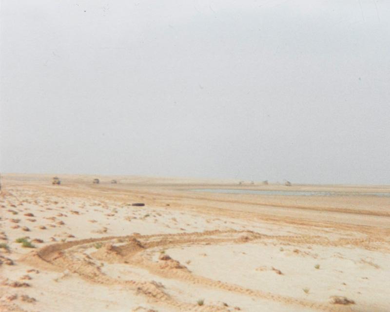 View of the desert in Iraq, c1991