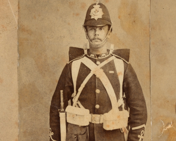 A lance-corporal of 2nd Battalion, The Connaught Rangers, 1882