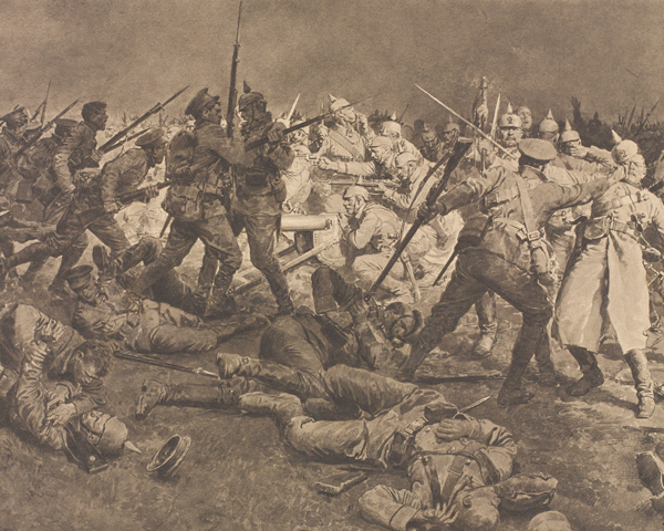 Repulsing the Prussian Guard at Ypres, 1914