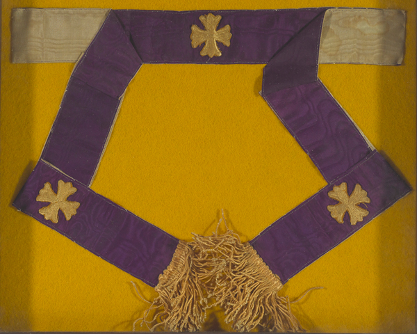 Stole worn by Father Francis Gleeson, 1914
