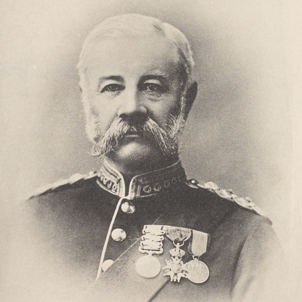 Major General William Allan, Colonel of The Welsh Regiment, c1902
